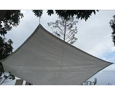 Teloni Ombrellone Balcone antigelo Protezione solare Giardino pensile Anti-UV criptato Spessore bianco Sole Rete-130g / m² (dimensioni : 4×8M)