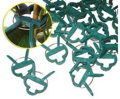 Iapyx® - Graffette per piante, robuste e stabili, per tralicci, arco per rose traliccio, ecc.