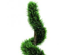 Euro Palms 82606960, Pianta ornamentale: Cipresso a spirale, 120 cm, Verde (Grün)