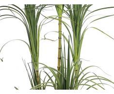 Dracena artificiale a cespuglio, vaso decorativo, verde, 215 cm - Albero del drago / Pianta finta - artplants