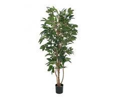 Caffè albero con frutta 210 cm, pianta artificiale
