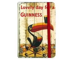Nostalgico Guinness notebook con lovely Day for a Guinness Toucan on segnavento