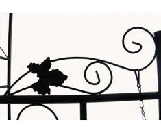 Jago RSBG01 arco giardino in ferro per rampicanti