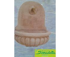 Vivaio Santabernadetta Art_10 Fontanella Fontanelle MEDA A Parete Interno/Esterno da Giardino H 85 Cm