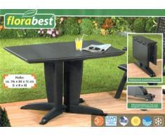 Tavolo da giardino in plastica acquista tavoli da for Tavolo plastica pieghevole