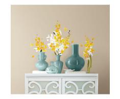RoomMates, Adesivi decorativi da muro riutilizzabili, motivo: pianta ornamentale (Orchidea), Multicolore (multi)