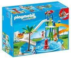 Playmobil 6669 - Torre degli Scivoli con Piscina, 3 Pezzi