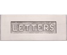 Carlisle Brass-Piastra buca lettere in rilievo, Maglietta