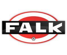Falk 2056C - Trattore con rimorchio, Pala e rastrello