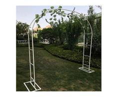 HLMBQ Arco da Giardino per Piante Rampicanti,Metallo Traliccio Supporto,Giardini Alberghi Terrazze Arredamento per Estern 140x230cm,200x230cm,350x220cm