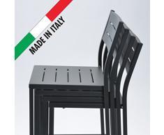 Rd Mobili Da Giardino.Sedie Da Giardino In Metallo Rd Italia Da Acquistare Online
