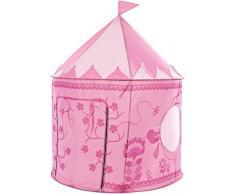 Trespass - Tenda da gioco a forma di castello, Rosa (rosa), N/A