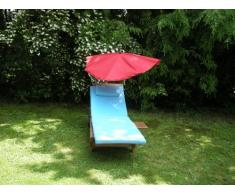 Scomparti sedia a sdraio paralume - STABIELO - scomparti esclusivo colore TERRA paralume Holly'sun - rivestimento - rimovibile + lavabile + sostituibile - fattore di protezione solare 30 + 40 + 50 + Resistente alle intemperie,
