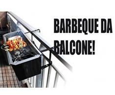 BARBECUE DA BALCONE PER ARROSTICINI 61x14cm