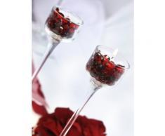 Sassi decorativi SiDeSo Rosso 12 mm diamanti 100 pcs acrilico decorazione MATRIMONIO tavolo