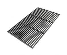 Griglia per barbecue in ghisa rettangolare 54 x 34 cm solida Barbecue a carbone e a gas