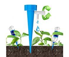 Minetom Irrigazione a Goccia 12 Pezzi Set per Irrigazione Automatica Vasi Sistema per di Pianteirrigazione Sistema di Irrigazione Delle piante e Dei Fiori per Le Vacanze