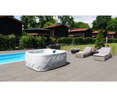 Fonteyn - Vasca idromassaggio Dream 8, per 5 persone, sia per interni che per esterni, Dreammaker