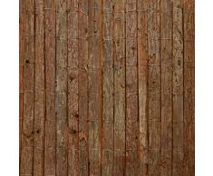 Sol Royal Recinzione in corteccia naturale SolVision R63 100x300 cm - protezione frangivista per balconi e giardino