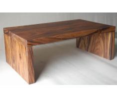Tavolino da salotto casa mobili di chio natur, Teak non trattato, massiccio, tavolino, caffè tavolo, tavolo Chen, con guance