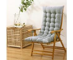 SQINAA Allungare il jumbo sedia a dondolo cuscini in inverno,Cuscino schienale per home Veicoli Tatami Coperta Cuscini per sedia swing all'aperto -C 48x120cm(19x47inch)