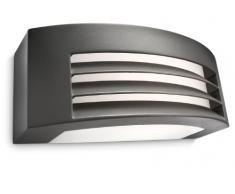 Philips Fragrance Lampada da Parete da Esterno, Rettangolare Up & Down, Alluminio, Antracite, Max 24 W