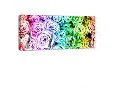 Appendiabiti con Design pioggia arco con Rose casella maniglia, attaccapanni appendiabiti da parete DG231