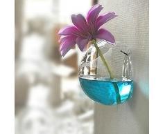 Bluelover Contenitore Di Fiore Parete Vetro Vaso Piante Idroponiche