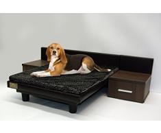 Letto di lusso per cani e gatti Maxi Marrone 120 x 88 x 31 cm