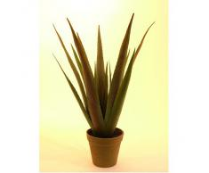 Euro Palms 82600167 - Pianta artificiale, Aloe Vera, 60 cm