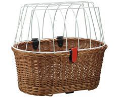 KLICKFix, Cesta per cani Doggy Basket per bicicletta, Beige (Beige), 36 x 52 x 46 cm