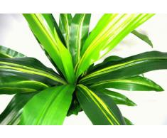 Geko - Pianta artificiale di Aloe, in plastica resistente ai raggi UV, misura: L, 90 cm
