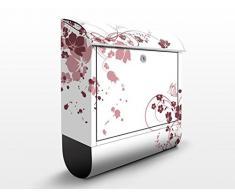 Cassetta postale design Apricot Blossom 39x46x13cm, Größe:46cm x 39cm