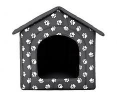 BUDSWL4 R4 grigio con zampe cuccia per cane gatto letto cani casa sonno spazio cani cestino cane casa casetta cuccia gatto (60 x 55 x 60 cm)