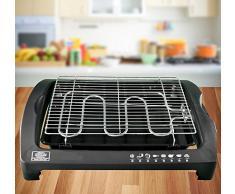 FRX Cool-Touch, barbecue, griglia elettrica, 2000 W, griglia elettrica da tavolo, per barbecue, feste con grigliata, grigliate da balcone