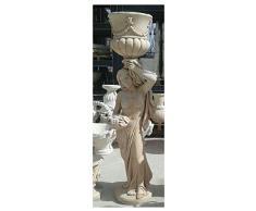 Statua da Giardino Statua da Esterno la Dama con il vaso H 170 cm
