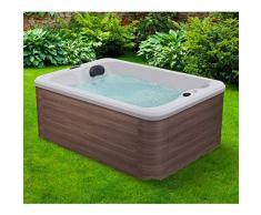 piscina gonfiabile idromassaggio 4 posti gonfiabile da esterno rotonda