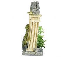 Pet Ting Arco da Giardino Acquatico Ornamento – Decorazione Acquario – Vivarium Decorazione