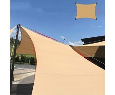 YUDEYU Arco Vela Ombreggiante A Quattro Angoli Protezione Solare Crittografia Addensare Tenda Rete Termoisolante (Size : 3.6x4.8m)