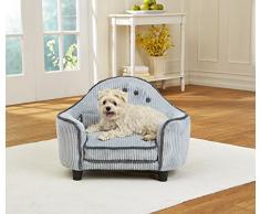 Divano Per Cani & Gatti di design | Robusta e di facile manutenzione | Cuccia con morbido cuscino per cani e pratica custodia per giocattolo per cani