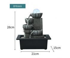 il salotto di decorazione feng shui palla fontana waterscape artigianali scrivania ornamenti zhaocai affari doni,8869 (21 * 15: 28)