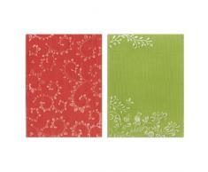 Cartelle di Goffratura Textured Impressions 2PZ - Set da Giardino di Rachel Bright