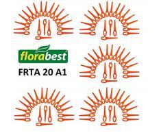 Florabest - 100 lame di ricambio per il tuo rasaerba elettrico Florabest Lidl FRTA 20 A1 IAN 282232