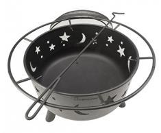 Landmann 11811 - Braciere da giardino Stars & Moon