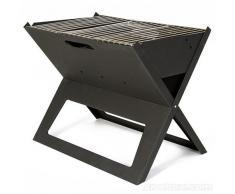 Barbecue Portatile Pieghevole BBQ Quick Barbeque Acciaio Pic Nic Mare Carbonella