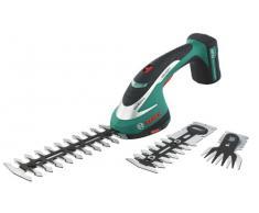 Bosch 600856301 ASB 10,8 Li SET Tosaerba E Sfoltirami Con Batteria Al Litio, Nero/Verde