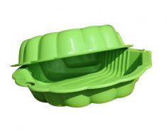 New Plast SB1327 - Sabbiera Piscinetta Doppia in Plastica Shell