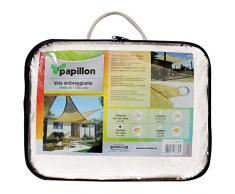 PAPILLON vela OMBREGGIANTE triangolare Bianca 5x5x5mt - giardino telo copertura tenda