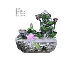 giardino roccioso acqua acquario decorazione ufficio feng shui fortunato rotary dribblare fontana umidificatore salotto aprendo i regali,nebulizzatore con rima