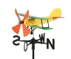 Schumm aereo - girandola, 55 x 47 x 33 cm, giallo